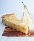 70 X TA19/11 Pear & caramel crumble tart (20), BBE