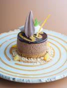 220 x CH19/09 Chocolate & Seville orange truffle t
