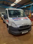 Iveco Daily Flat Bed Truck, bed length 4.85 m, Registration LX14 PJU, Date of Registration 5/3/14,