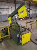 Sterling SRA 440 DGSA Horizontal Bandsaw, Machine No. 1803060 (2018) with Roller Feed & Take off