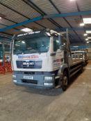 MAN TGM18.250 4 x 2 bl Flat Bed Truck, Registration GK12 VKF, Date of Registration 06/06/12, 311,526