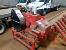 La Rocher LRC50 Rebar Cropping Line, Machine No. 5621 LRC50 400v 50Hz with Roller Feed Table, 9000mm