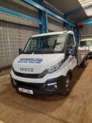 Iveco Daily 35-150 Flat Bed Truck, bed length 4.85 m, Registration LX17 LDL, Date of Registration