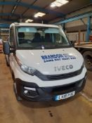 Iveco Daily 35-150 Flat Bed Truck, bed length 4.85 m, Registration LX18 PUE, Date of Registration