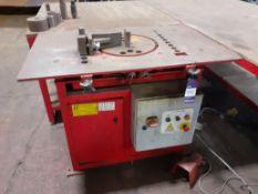 La Roche LRB 32T Bendmaster MKIII Rebar Bending Machine No. 5555 LRB 32T MKIII 400v with 2 Steel