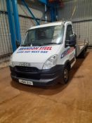 Iveco Daily Flat Bed Truck, bed length 4.85 m, Registration LX64 OVV, Date of Registration 2/9/14,