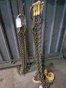 2 x 4 Leg Lifting Chain Sets, 3 x Single Lifting Chains, 2 Leg Lifting Chain Set