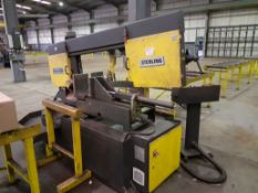 Sterling SRA 440 DGSA Horizontal Bandsaw, Machine No. 151007 (2015) with Roller Feed & Take Off
