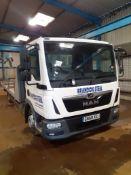 MAN TGL 7.190 4 x 2 BB 7.5T Flat bed Truck, Registration GN68 XZJ, Date of Registration 5/11/18,