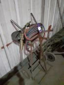 Oxy Acetylene Cutting Set with Bottle Trolley