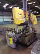 FMB Oluimpus3 Semi Aut Power Horizontal Bandsaw, Serial number P00105 (2010) with Powered Roller