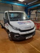 Iveco Daily 35-150 Flat Bed Truck, bed length 4.85 m, Registration LY15 GOJ, Date of Registration