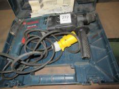 Bosch GBH 2-26 DRE rotary hammer drill in case (110V)