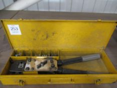 Kempress crimping tool in case