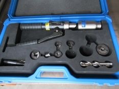 Cembre Hydraulic punching tool in case