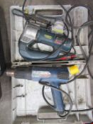 Bosch Jigsaw and Steinel Heat Gun 110V