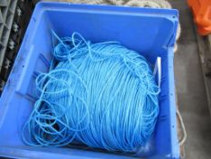Pallet of Heavy Duty Rope, Nylon Twine and Reel of Rope