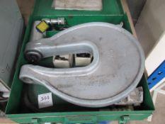 Greenlee 1731 Hydraulic Punch Driver in Steel Box