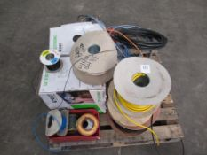 Pallet to contain qty of Cable