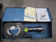 Cembre TC120 Hydraulic Cutting Head and Cembre PO7000 two speed hydraulic foot pump