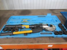 Crimp-Pak 660019 hydraulic crimping tool in case