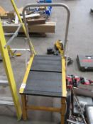 Swingback Step Ladders and Bratts Stepup Work Platform