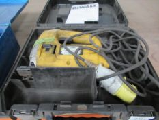 DeWalt DW320KL jigsaw in case (110V)