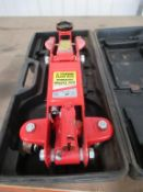 2000kg hydraulic trolley jack