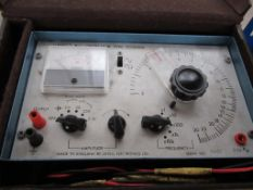 Levell R.C Oscillator Type TG152DM in case
