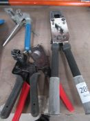 Various Crimping Tools and Wire Cutters