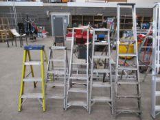 5 Various Step Ladders