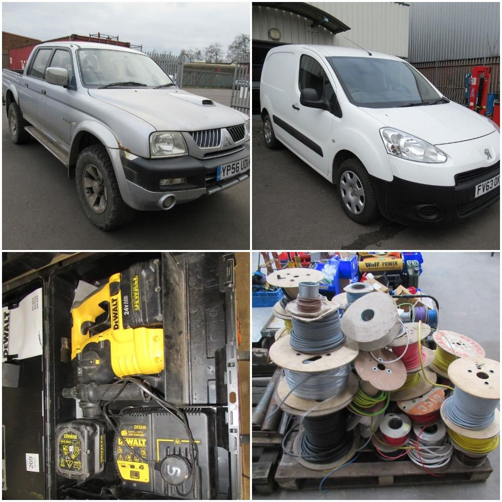 Range of Commercial Vehicles, Tooling and Electrical Equipment