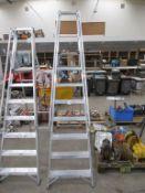 EN131 Professional Class 7 Tread Platform Step Ladder