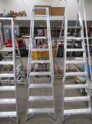 EN131 Professional Class 6 Tread Platform Step Ladder