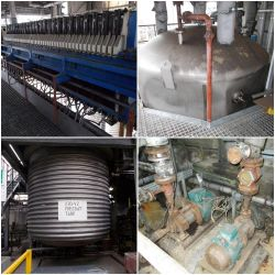 2x Electro Hydraulic Filter Presses and 2x Stainless Steel Tanks