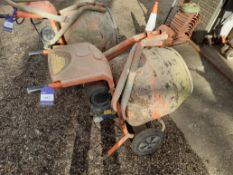 Belle Mini Mix 150 240v Concrete Mixer