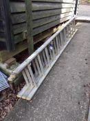 Aluminium Triple Extension Ladder