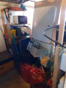Set of Drain Rods, Jerry Cans, Canteen Tables, Microwave Ovens