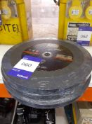 3 Packs of 5 300mm Cutting Discs
