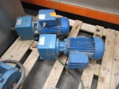 2x Motor Gearboxes
