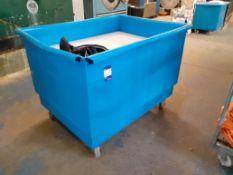 Polypropylene Sprung Platform Laundry Trolley 4' x 3'