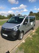 Vauxhall Vivaro L2 2900 1.6 CDTI 115PS H1 Combi 9 Seat Minibus, registration LR15 CCU, first registe