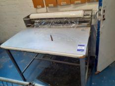Steel Framed Film Dispensing Table, 1100mm