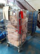 3 Various Cage Trolleys