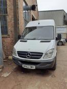 Mercedes Benz Sprinter 313CDi Panel Van, Registration KP62 DWU, First Registered 11.10.2012, V5