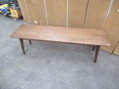 2 x Retro dining bench 1500 x 400 x 450mm