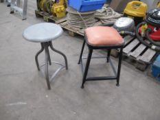 2 x low stools