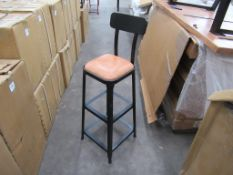 3 x industrial UPH high stools