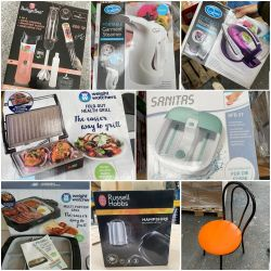 Major Warehouse Clearance of New & Boxed Goods