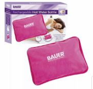 9 x Bauer Rechargeable Hot Water Bottles New & Boxed